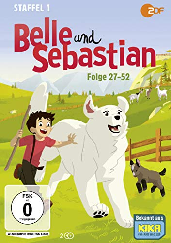 Belle und Sebastian - Staffel 1, Folge 27-52 (2 DVDs)