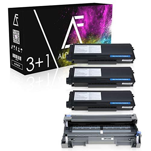 Alphafax 3 Toner + Trommel kompatibel für Brother TN-3280 DR-3200 HL-5350DN DCP-8070 8080 8085 8880 8890 D DN DW MFC-8370 8380 8880 8885 8890 DN DLT DW Series