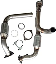 10530231 Front Catalytic Converter Exhaust Manifold for Chevy 99-07 GMC Yukon Silverado 1500 2500 Truck Manifold Converters (Only fits 2.5L vehicles)