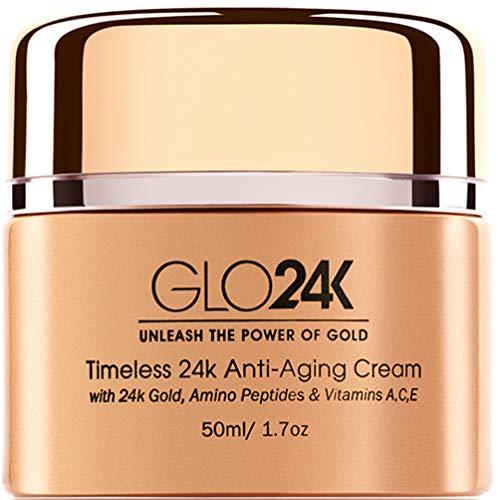 crema viso 24k GLO24K Crema anti-età in 24k con vitamine