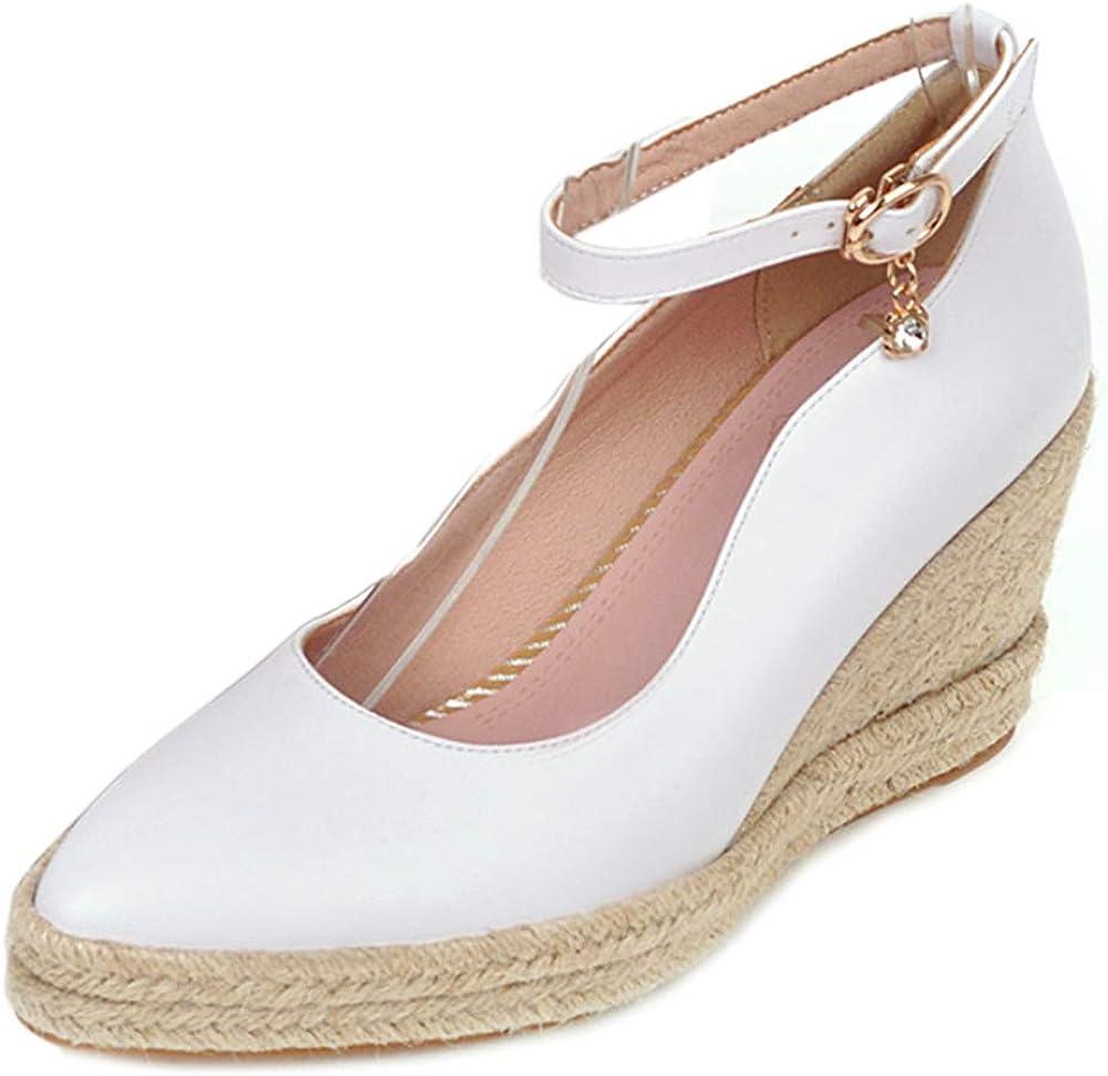Skapee Women 最新号掲載アイテム Classic Pumps 割り引き High Wedge Heels