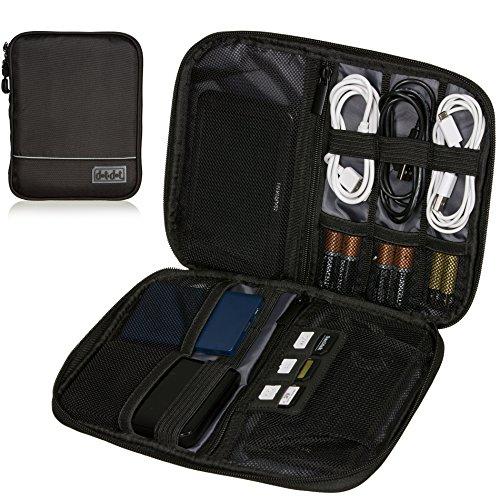 Electronics Organizer Tech Case - Travel Tech Accessory Organizer