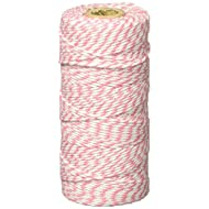 Wrapables A66812c 12-Ply Cotton Baker's Twine, 110-Yard, Pink