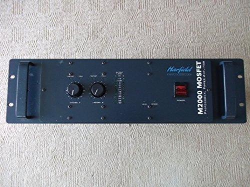 M2000 -2000 watt 4u Jack & XLR In (with Link) Speakon out - Harfield / Matrix / Vestax Amplifier (UK Only) 12'