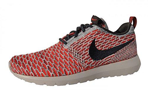Nike Rosherun Flyknit Herren-Men's 677243-602 Mehrfarbig Laufschuhe , Schuhgröße:EUR 42.5