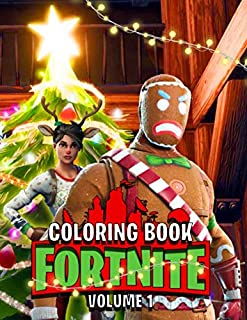 Christmas Coloring Book: 50+ Coloring Pages for Kids and Adults Amazing Drawings: Characters , Weapons & Other Unoffical