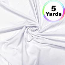 ITY Fabric | 5 Yard Continuous | Jersey Lycra Knit | 2-Way Stretch | 60