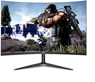 Binglinghua 27-inch VA Wide Viewing Angle Curved Surface Full HD Not Flash Screen E-Sports Game LCD Computer Monitor for A...