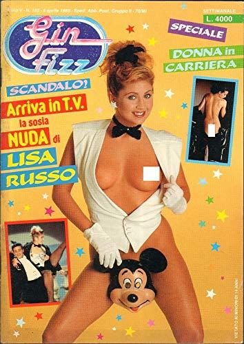 Gin Fizz Rivista erotica Anno 1989. 6 aprile n.185. Misa Russo, Carny Bequer, Nikki Smart