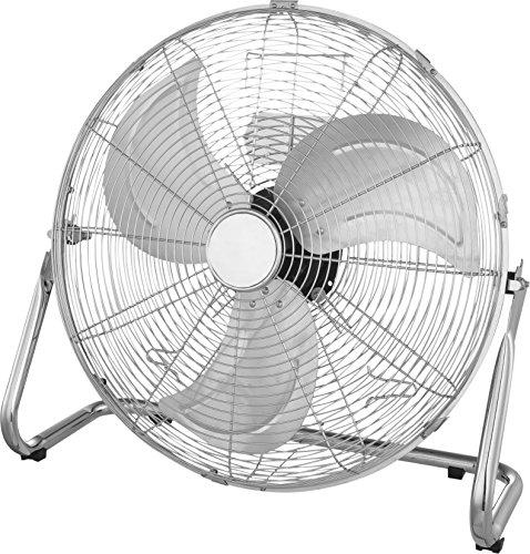 Globo Stand Boden Tisch Steh Stand Ventilator 79 Watt 3 Stufen Klima Luftkühler Windmaschine Chrom 0313 Van