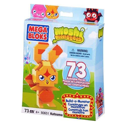 Megabloks - Juego de Bloques para bebé Moshi Monsters (MEBL80650) (Surtido)