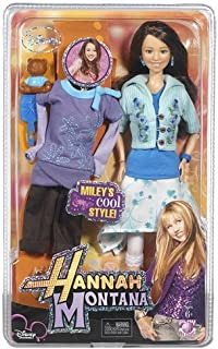 Play Along Hannah Montana Fashion Collection: Green Flowered Skirt with Top, Jean Capris with Shirt