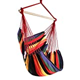 Chihee Hammock Chair Large Hammock Chair Relax Hanging Swing Chair Cotton Weave for Superior Comfort...