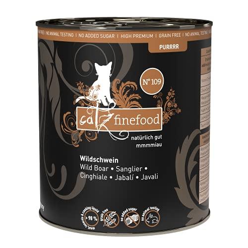 Catz finefood Katzenfutter Purrrr 109 Schwein, 6er Pack (6 x 800 g)