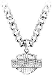 Harley-Davidson Men's Stainless Steel Bar & Shield Chain...
