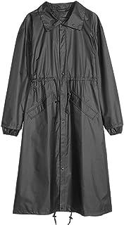 WZHZJ Raincoat Women Men Waterproof Windproof Hooded Light Rain Coat Ponchos Jacket Cloak Female Raincoat Big Size
