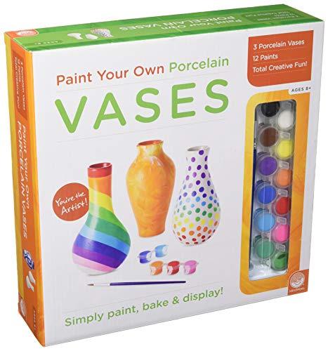 MindWare Paint Your Own Porcelain: Vases Game