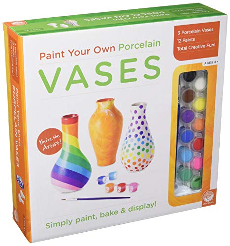 MindWare Paint Your Own Vases
