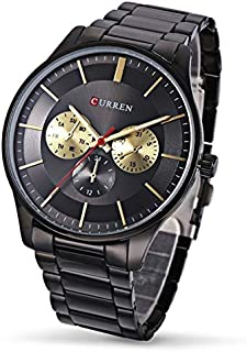 Curren Casual Watch For Men - Stainless Steel Band - 8282