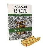 Palo Santo Incienso Natural - PALOSANTO Madera Sagrada - Palitos Especial - 5 Palitos - Aroma para la meditación, la Lectura, la relajación - Original Bursera Graveolens