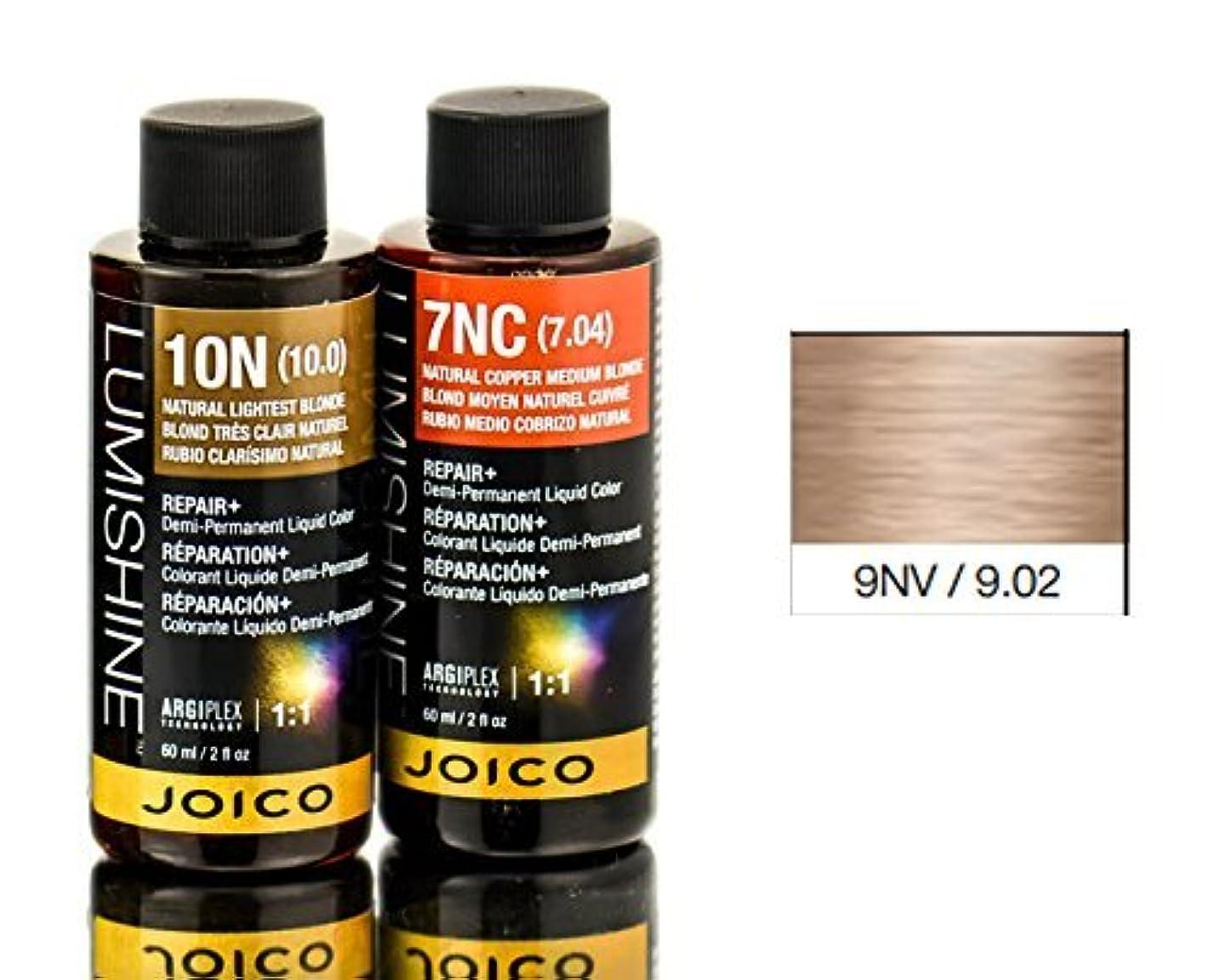 この出血特派員Joico Lumishineデミパーマネント液体色、ナチュラルバイオレットライトブロンド9nv、 2オンス