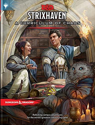 Strixhaven: Curriculum of Chaos (D&d/Mtg Adventure Book): A Curriculum of Chaos