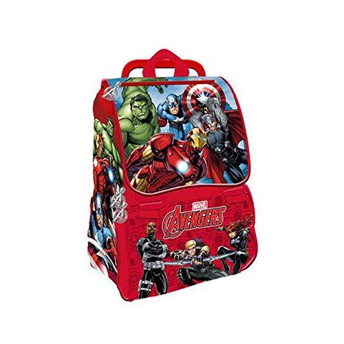 Viscio Trading 173330 Zaino Estensibile Avengers, PVC, Multicolore, 20x28x45 cm
