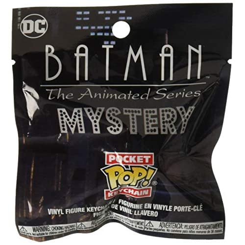 FUNKO POP! KEYCHAIN: DC Comics - Batman The Animated S2 (ONE Random Keychain Per Purchase)