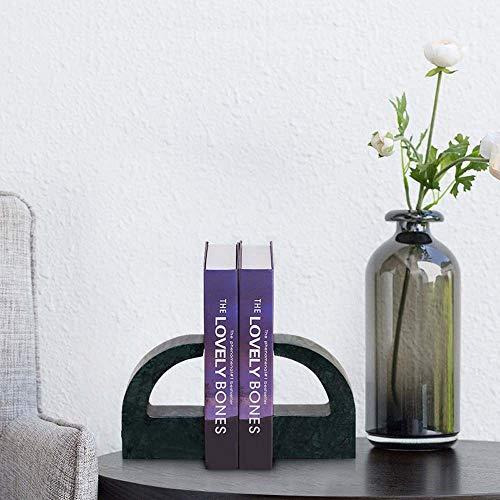 DAMAI STORE Marble Buch Von Einem Autor Europäischen Modernen Villa Modell Raum Dekorativ Schreibtisch Studie Büchern Ornamente 100 * 20 * 150 Mm