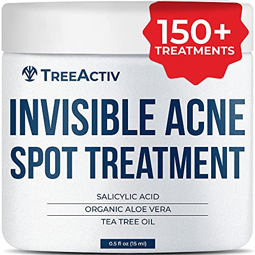 Treeactiv Invisible traitement de l'acné spot All Natural Goes On Works clair sous le maquillage Réduit rapidement Imperfections Safe pour peau sensib