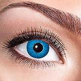 Alsino Farbige Kontaktlinsen Wochenlinsen 1 Paar Bunt Gruselig ohne Stärke für Mottopartys...