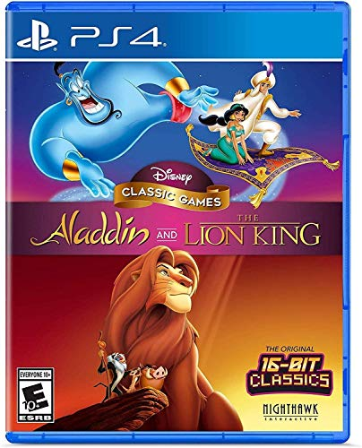 Jogo Disney Classic Games: Aladdin E O Rei Leão Disney - PlayStation 4