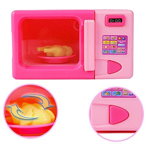 MAJGLGE - Juguete de microondas portátil para niños y niñas, para C