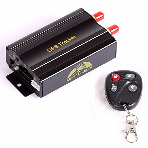 Multifonctions en temps réel véhicule GPS / GSM / GPRS Tracking Kits de système Quadri-bande SD Move Alarme Anti-vol GPS Tracker