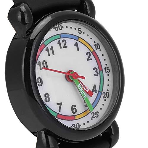 Reloj para niños, Reloj de Pulsera Digital Conectado con Dibujos Animados en 3D, la Longitud es fácil de Ajustar, Regalo para niñas, niños, niños pequeños