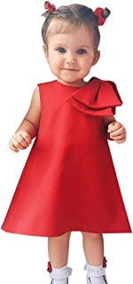 ワンピース 赤ちゃん服 女の子 プリンセスドレス 無地 蝶結び オシャレ 可愛い お出かけ お宮参り 結婚式 発表会 記念撮影用 誕生日 娘の日 プレゼント