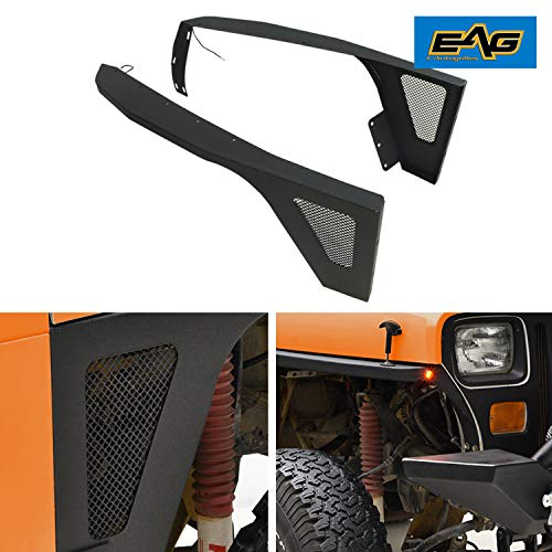 jeep yj front fender flares - 5