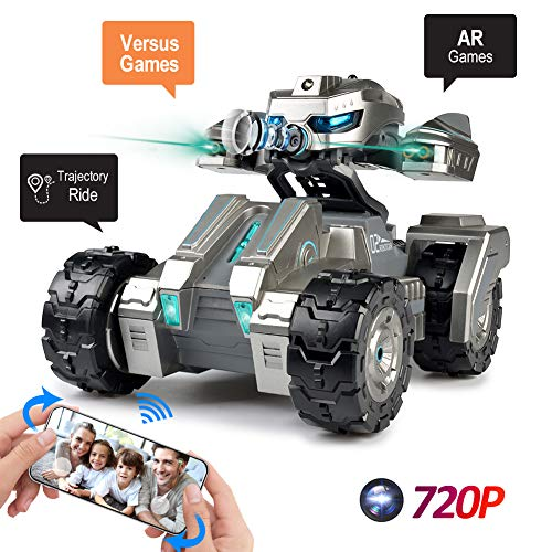 kolegend RC Car Camera Remote Control Car with 720P HD FPV Camera,AR Mode Robot Car, Gravity Sensor Remote Control Truck, Versus Mode Car for Kids Adults, Gift for Boys and Girls