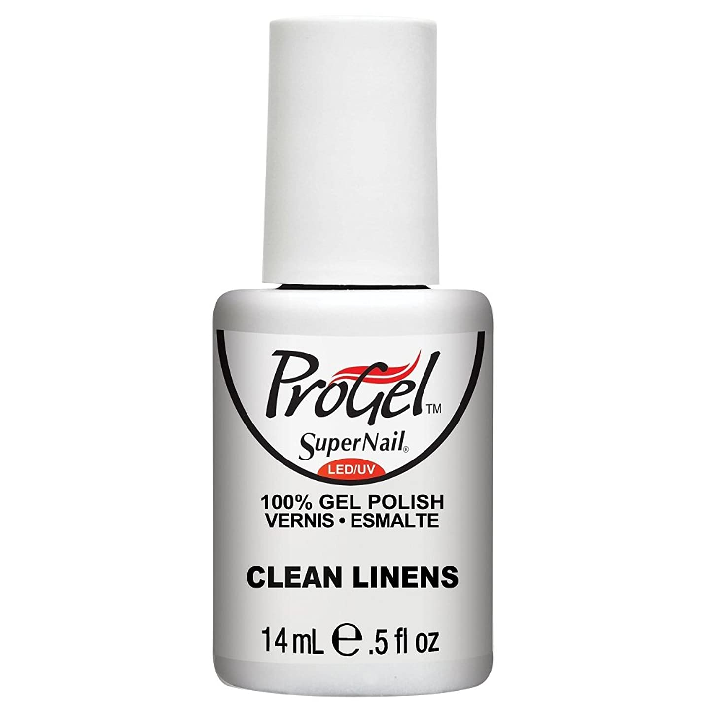 周術期教育するコールSuperNail ProGel Gel Polish - Clean Linens - 0.5oz / 14ml