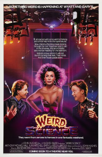 Weird Science (1985) Movie Poster 24x36