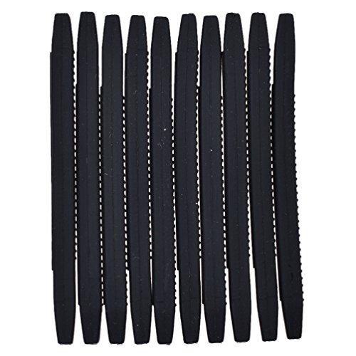 Kesheng 10x Silikon Anti Slip Brille Ohrhaken Polster Halterung Schwarz Weiß Zubehör