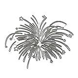 Kohlenstoffstahl Romantische Feuerwerk Stanzen Sterben Prägeschablone Schablone Form DIY Papier...