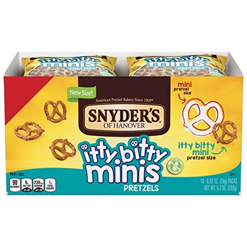 Itty bitty mini pretzels