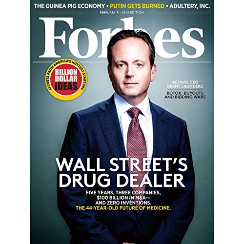 Forbes, January 26, 2015 audiobook cover art