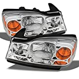 Saturn Vue Accessories & Parts - For Saturn Vue Amber Chrome OE Replacement Headlights Driver/Passenger Head Lamps Pair New