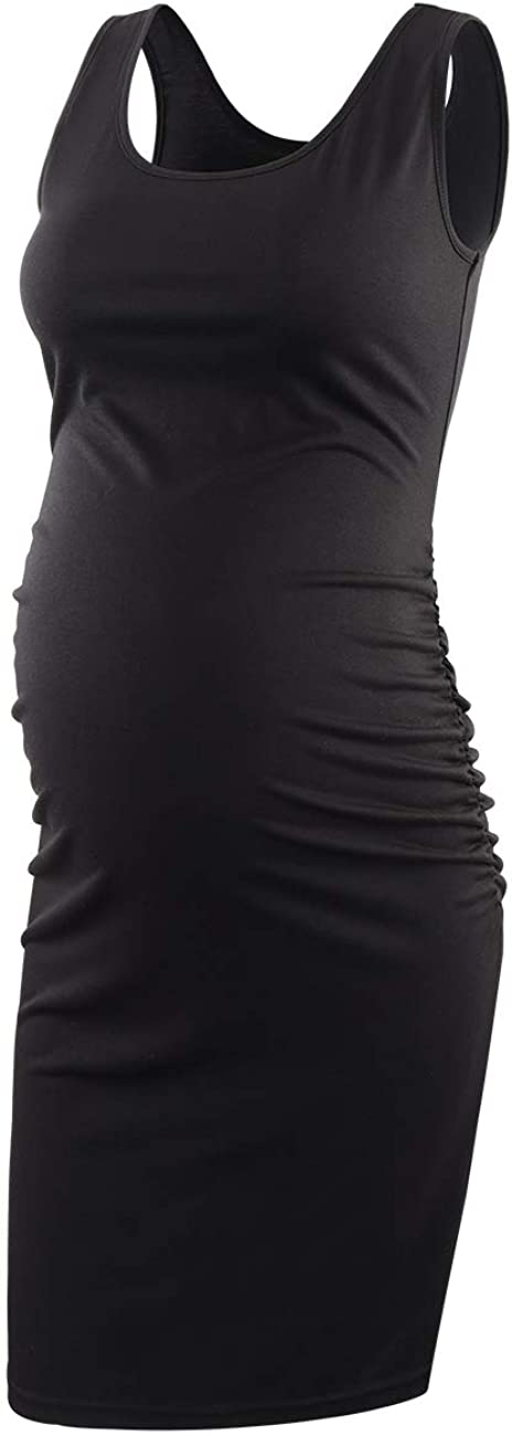 ShenQege Finally popular brand Women's free shipping Maternity Dress Bodycon Tank Casual