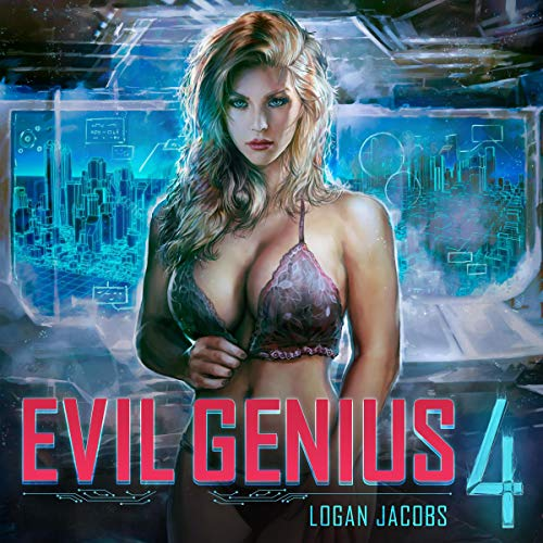 Couverture de Evil Genius: Book 4