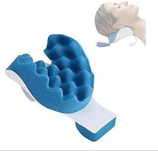 Almohada de masaje para hombros y cuello, alivio del dolor y soporte relajante