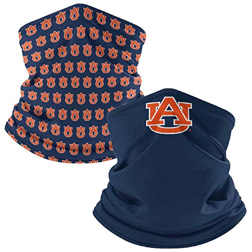 Auburn Tigers Retro Face Covering Gaiters 2-Pack - Navy