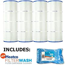 Pleatco Cartridge Filter PA81-PAK4 Pack of 4 Hayward C3025 CX580XRE w/ 1x Filter Wash